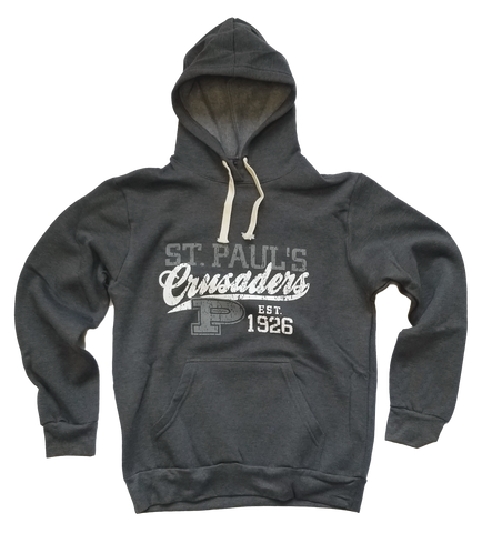 Tri-Blend Pullover Hoodie w/ Screen College Design