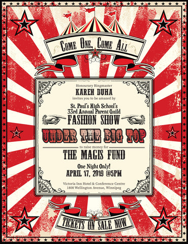 Arabian Nights - 33rd Annual SPHS Fashion Show and Fundraiser