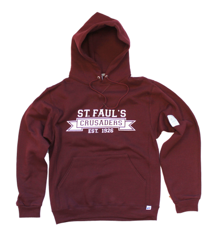 Banner Style Screened Hoodie