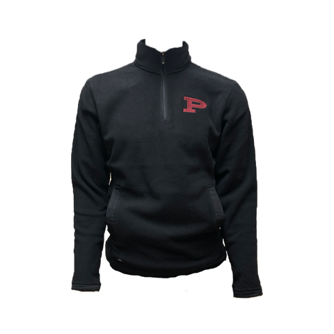 Fleece 1/4 zip with Crusader P Logo