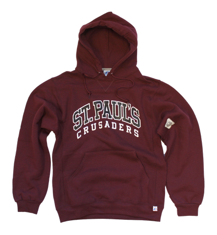 Chenille Style Screened Print Hoodie