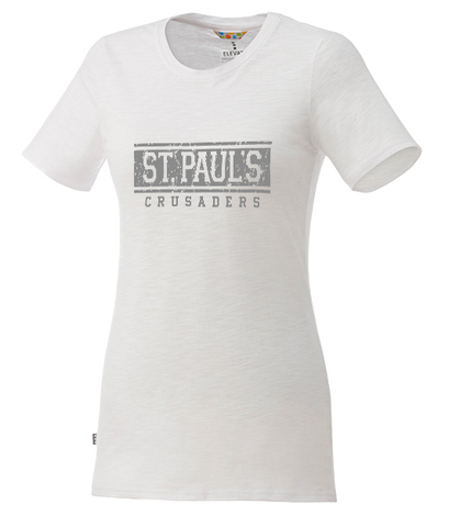Ladies Distressed T-Shirt