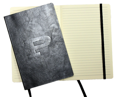 Faux Leather Embossed Journal