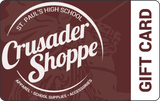 Crusader Shoppe Gift Card