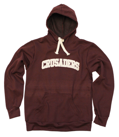 Tri-Blend Hoodie with Crusader in Pro-Twill