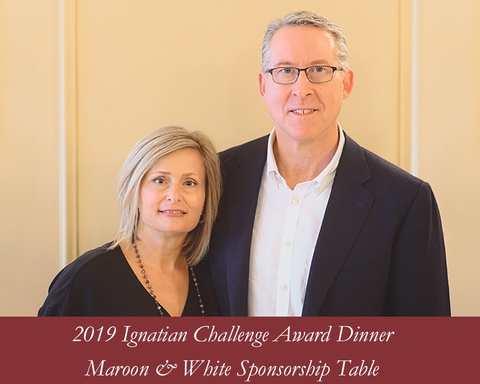 2019 Tribute Dinner - Maroon & White Sponsorship Table