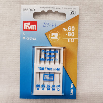 60-80/8-12 Prym Machine Needles