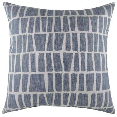 Geo Blue Anelli Cushion