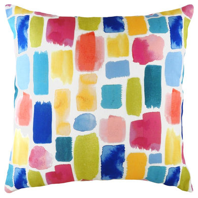 Aquarelle Dash Cushion