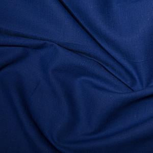 Royal Blue Linen Look