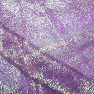 Purple Rainbow Organza