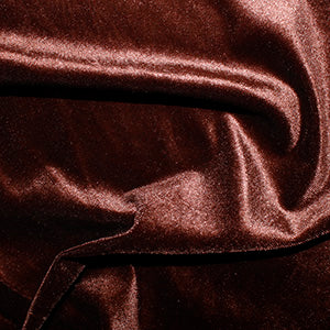 Brown Velvet Velour