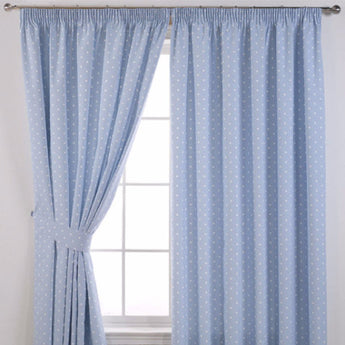 Dotty - Ready Made Curtains (Pencil Pleat) - SBFabrics
