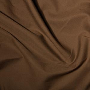 Brown Plain Polycotton