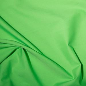 Lime Plain Polycotton