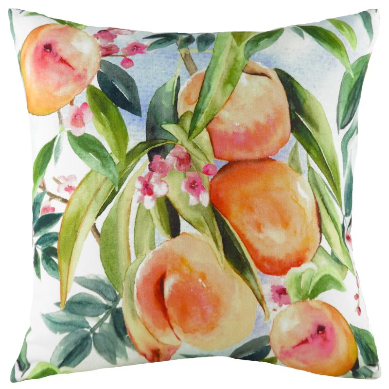Fruit Peaches Cushion
