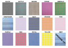"Load image into Gallery viewer, Royal 1/4"" Checks Gingham"