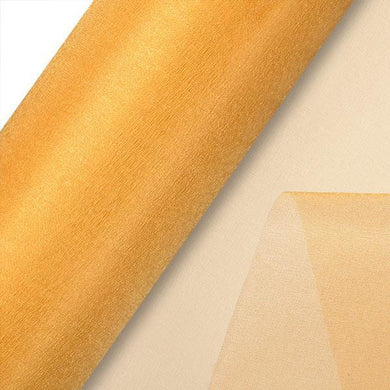 Gold Plain Organza