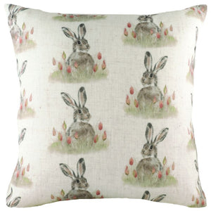 Hedgerow Hare Repeat Cushion