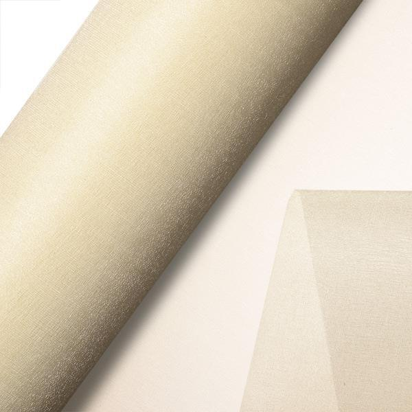 Cream Plain Organza