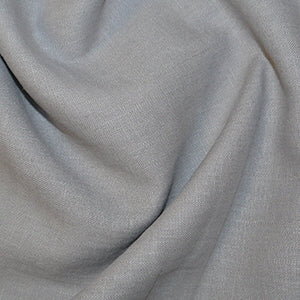 Grey Enzyme Washed Linen