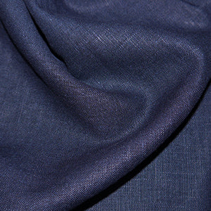 Navy Enzyme Washed Linen
