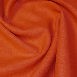 Rust Enzyme Washed Linen