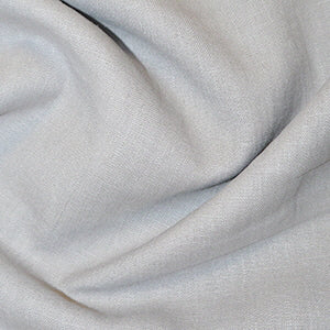 Silver Enzyme Washed Linen