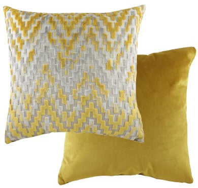 Gold Chevron Marrakesh Cushion