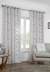 Bordeaux - Ready Made Curtains (Eyelets)