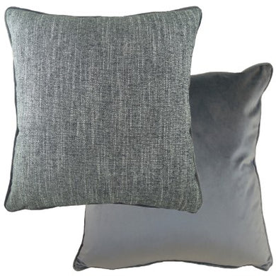 Dark Grey Polaris Cushion
