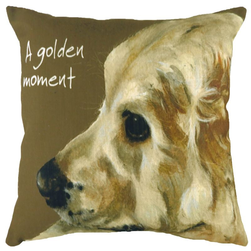 Golden Moment Cushion