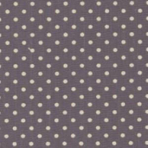 Light Grey Cotton Canvas Spot Print