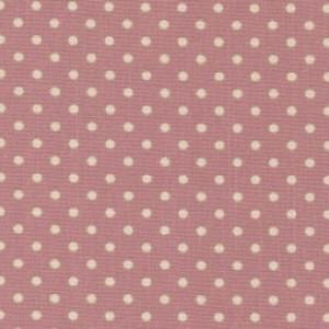 Pink Cotton Canvas Spot Print