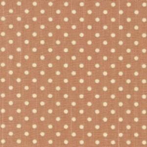 Tan Cotton Canvas Spot Print