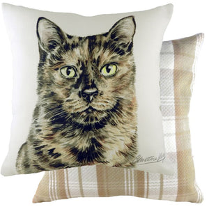 Tortoiseshell Cat Cushion