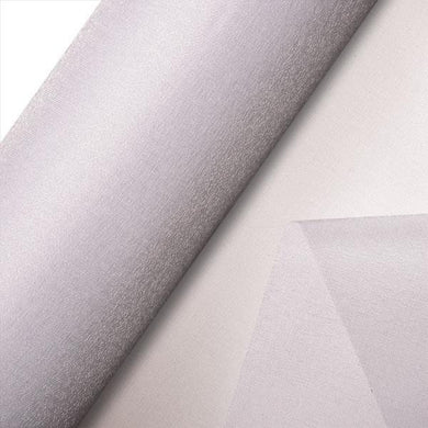White Plain Organza