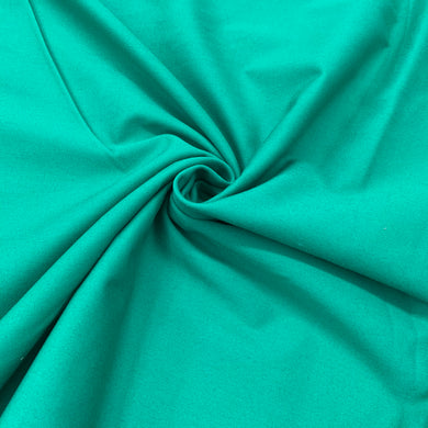 Bright Emerald Polycotton Drill