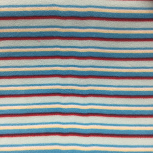 Blue Stripe Fleece