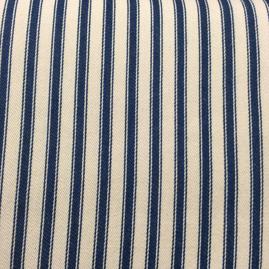 Marine Canvas Ticking Stripes