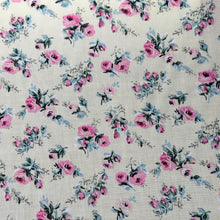 Load image into Gallery viewer, Cream Floral Viscose Print