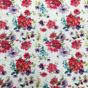 Multi Flowers Cotton Print