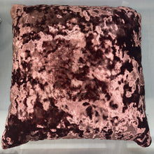 Load image into Gallery viewer, Dusky Pink Crush Velvet Cushion