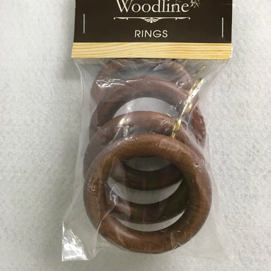 Rosewood Woodline Rings - 35mm