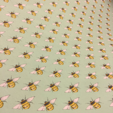 Meadow Bees Cotton Poplin