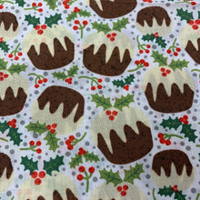 Load image into Gallery viewer, White Xmas Pudding Christmas Print
