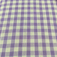 "Load image into Gallery viewer, Lilac 1/4"" Checks Gingham"