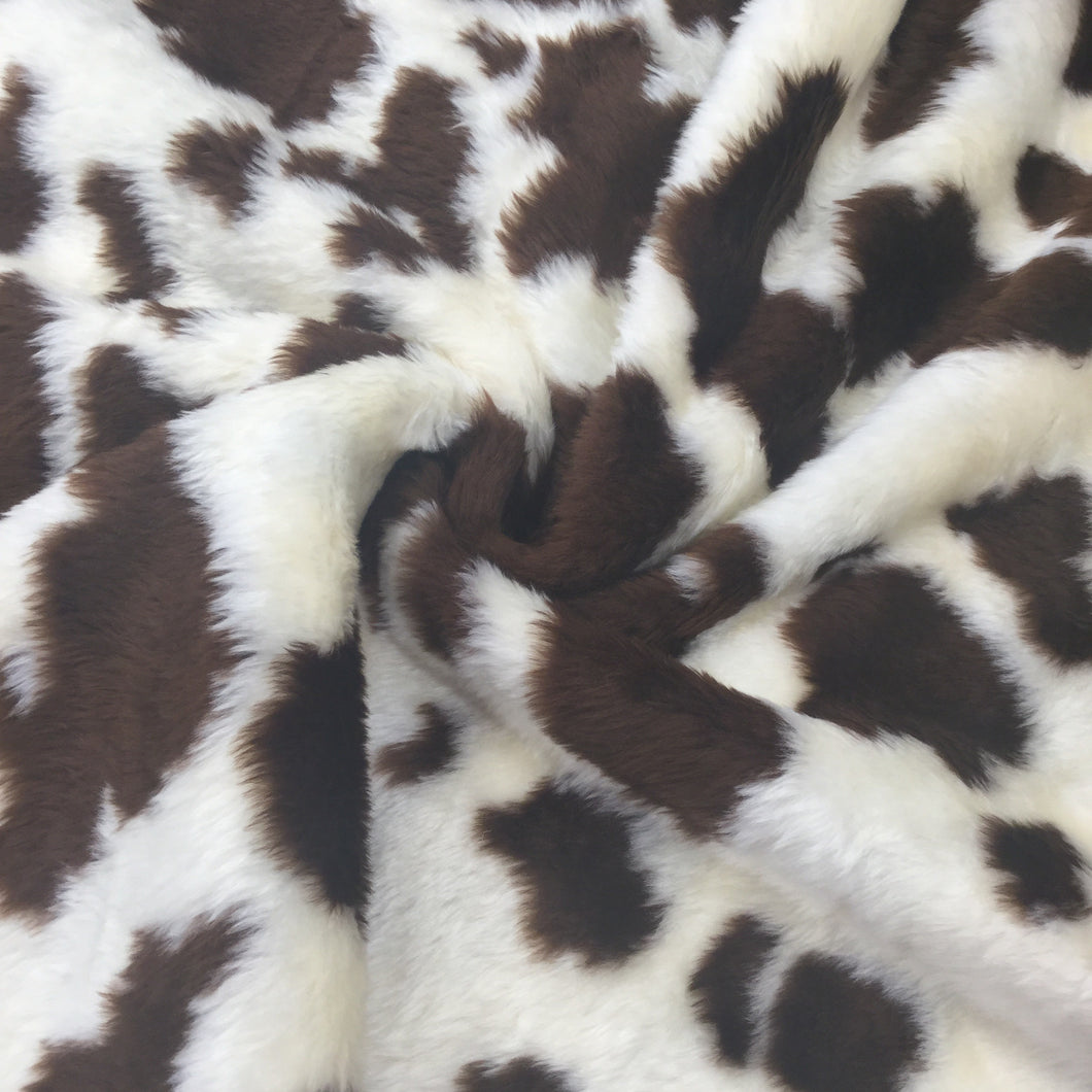 Brown Cow Fur Print