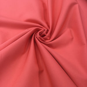 Coral Twill Cotton