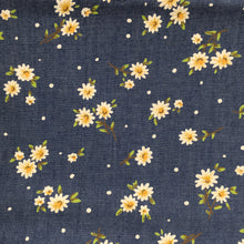 Load image into Gallery viewer, Denim Flowers Print